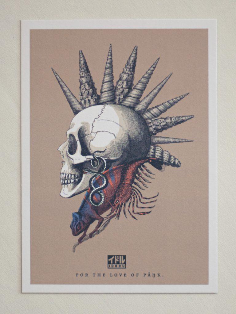 """Punk is not Dead"" Illustration"